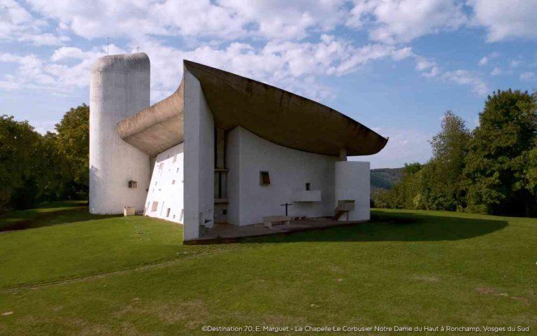 Ronchamp-la-Chapelle-Notre-Dame-du-Haut_patrimoine mondial de l'UNESCO