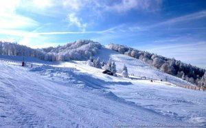 la station des sport d'hiver -La-Planche-des-Belles-Fille-en-Hiver