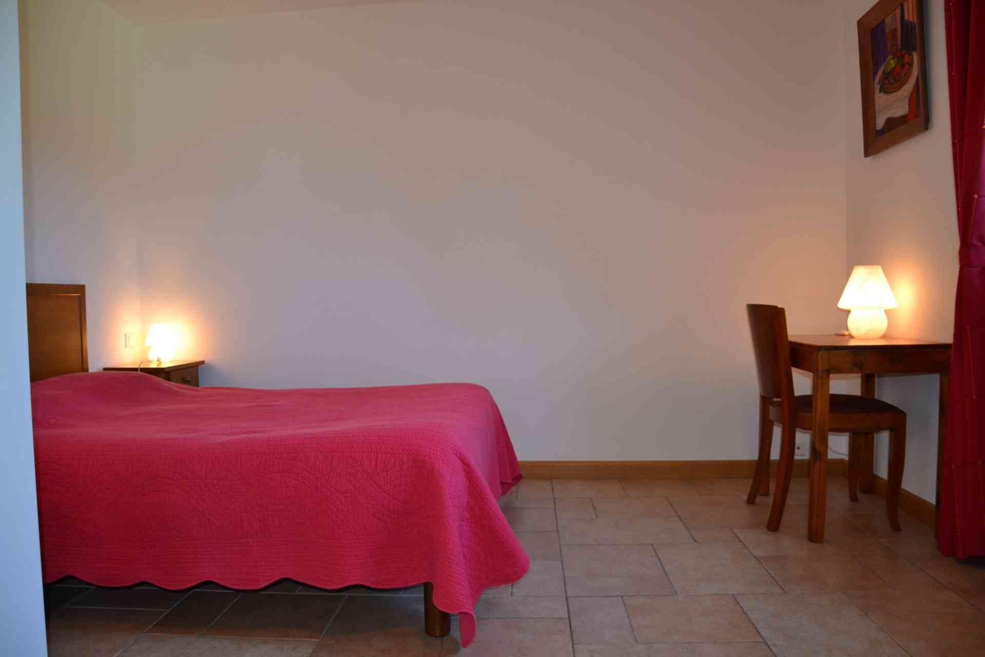 une des nos chambres d'hôtes chambre rose