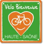 logo vélo bienvenu HAUTE SAÔNE