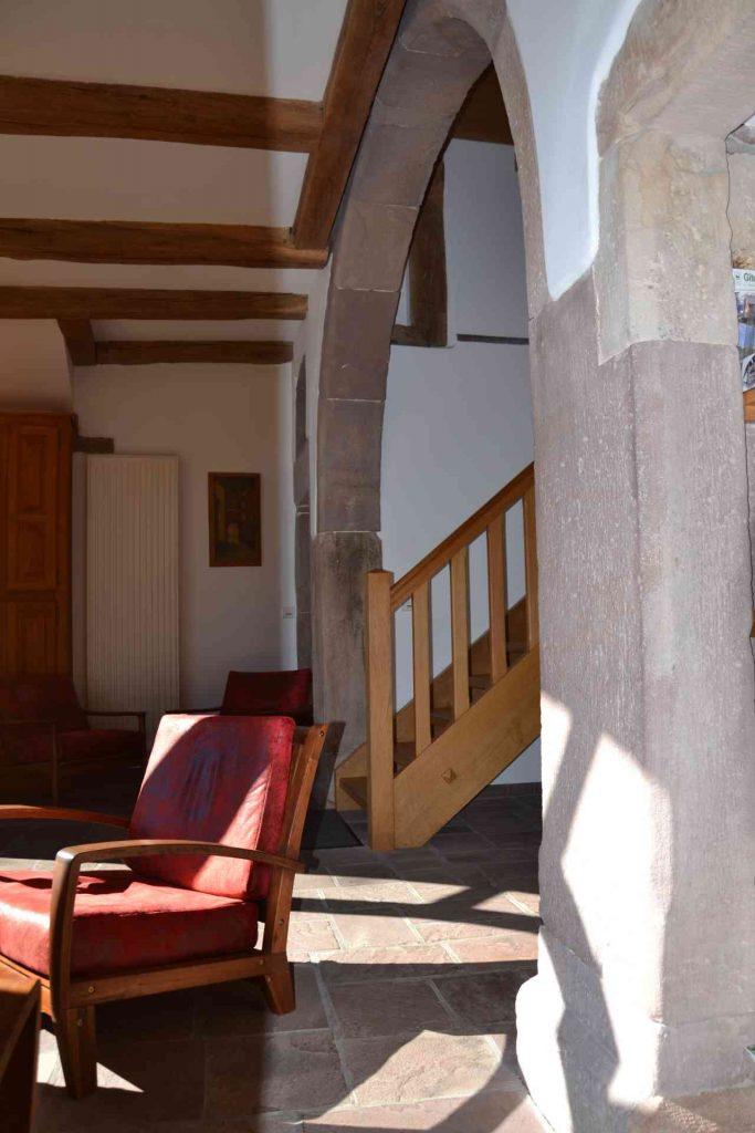 l'entrée et l'escalier